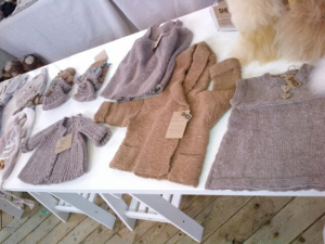 alpaca fleece knitwear