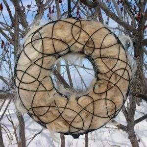 Nesting ornaments for birds